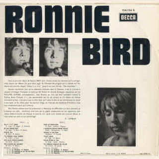 Ronnie Bird - Dos 33 tours