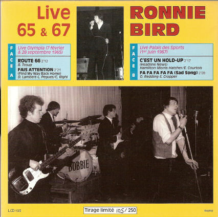 Ronnie Bird en live au Palais des Sports